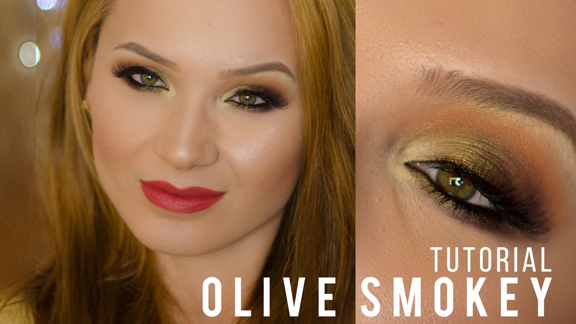 Olive Smokey Eyes