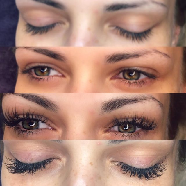 Luvie Lashes of the day lashes lashextensions classicextensions 1D elenanedelcumakeuphellip