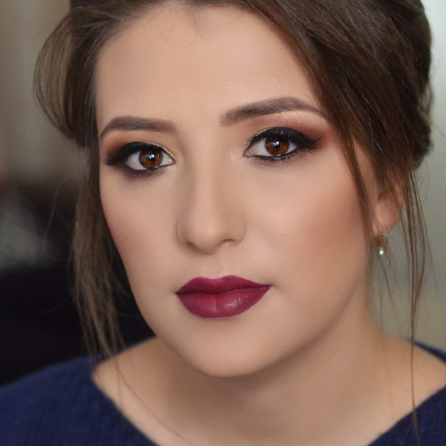 Cherry lips   burgundylips makeupartistsworldwide nyxcosmeticsromania undiscoveredmuas elenanedelcumakeup